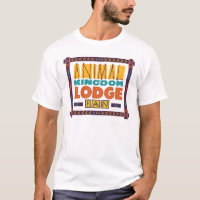 Animal Kingdom Lodge Fan Mens Tee Shirt
