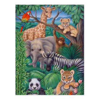 Animal Kingdom Postcard