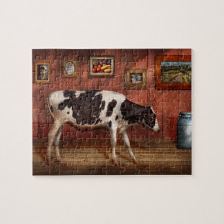 Animal - la vaca rompecabeza con fotos