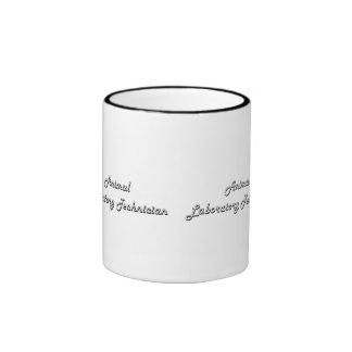 Animal Laboratory Technician Classic Job Design Ringer Mug