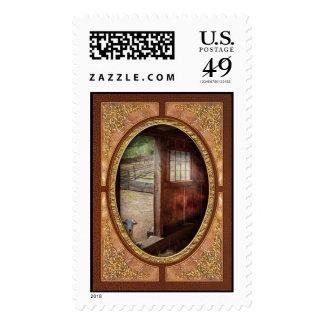 Animal - Lamb - Hello, anybody home Stamps