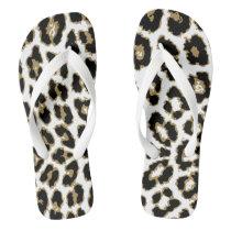 Animal Leopard Cheetah Print Pattern Flip Flops
