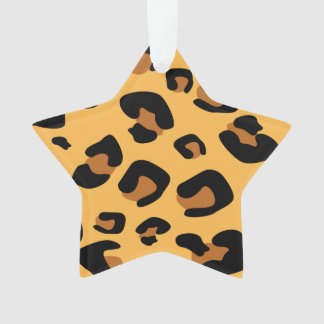 Animal Leopard Print Ornament