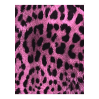 Animal leopard print - pink flyer