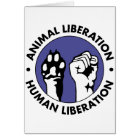 Animal Lib Human Lib Card
