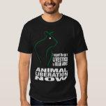 Animal Liberation Black T Shirt