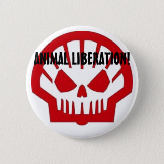 Animal Liberation! Button