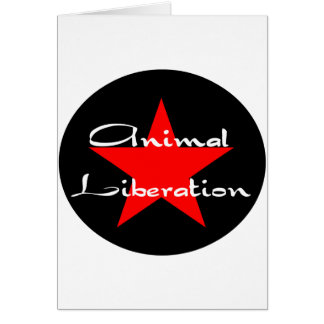 animal liberation card