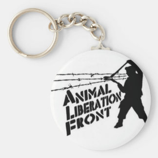 Animal Liberation Front Key Chains