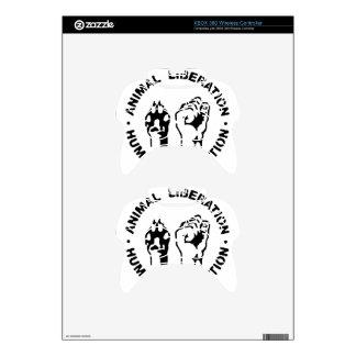 Animal Liberation - Human Liberation Xbox 360 Controller Skins