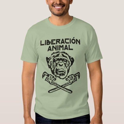 Animal Liberation t-shirt black Espanol