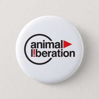 Animal Liberation t-shirt Pinback Button