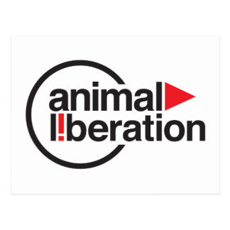 Animal Liberation t-shirt Postcards