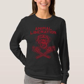Animal Liberation t-shirt red