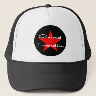 animal liberation trucker hat