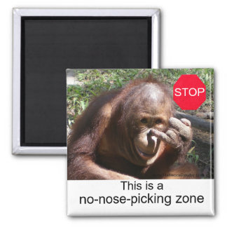 Animal Life Lessons #1 2 Inch Square Magnet