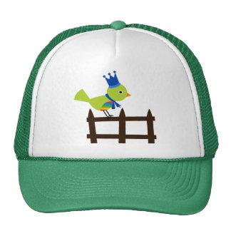 Animal lindo del dibujo animado de la cerca de la gorras