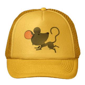 Animal lindo del dibujo animado del mamífero de lo gorras de camionero