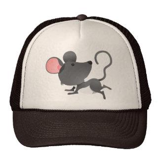 Animal lindo del dibujo animado del mamífero de lo gorra
