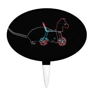 animal lindo del ratón del esquema del juguete decoraciones de tartas