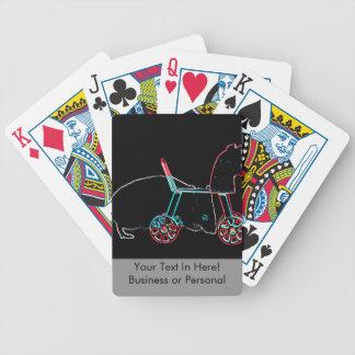 animal lindo del ratón del esquema del juguete cartas de juego