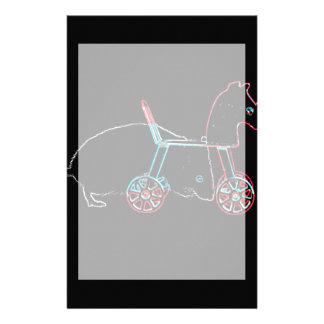 animal lindo del ratón del esquema del juguete papelería de diseño