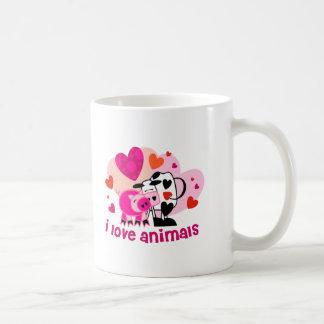 Animal Love Classic White Coffee Mug