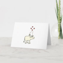 Animal Love Custom Message Card