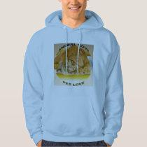 Animal love hoodie