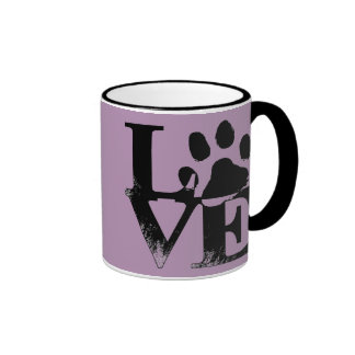 Animal Love Paw Print Mug