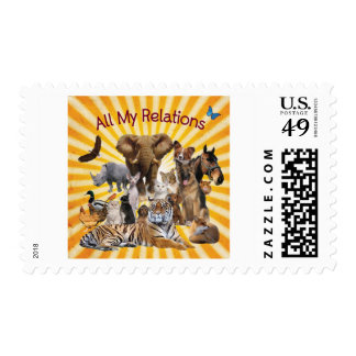 Animal Love Stamps