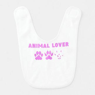 Animal Lover Baby Bib