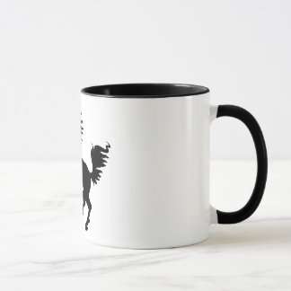 Animal Lover | Black Horse Rearing Mug