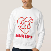 ANIMAL LOVER, Cat & Dog, T-shirts