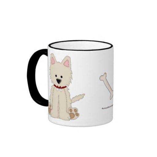 Animal Lover-Cute Blonde Puppy Coffee Mug