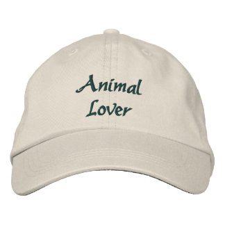 Animal Lover Cute Embroidered Baseball Hat