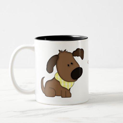 Animal Lover-Cute Puppy Coffee Mug