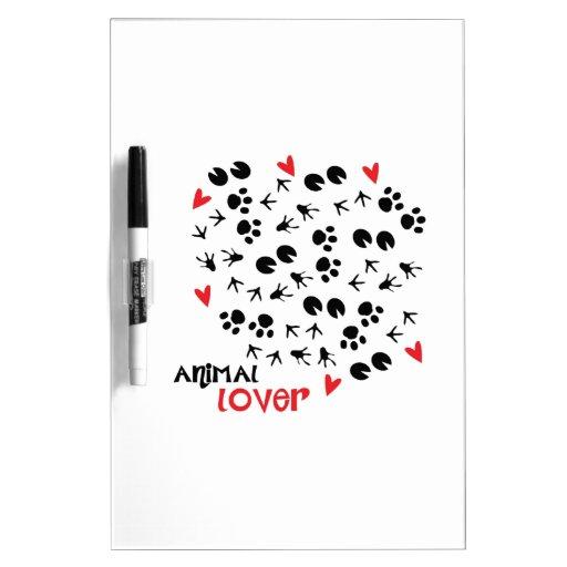 Animal Lover Dry-Erase Boards