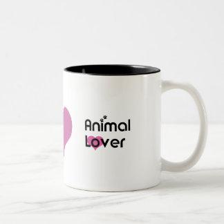 Animal Lover Heart Mug
