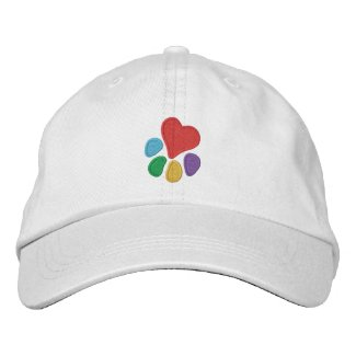 Animal Lover_Heart-Paw embroideredhat