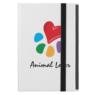 Animal Lover_Heart-Paw_personalized Cover For iPad Mini