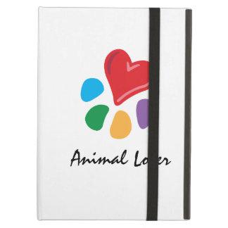 Animal Lover_Heart-Paw_personalized iPad Folio Case