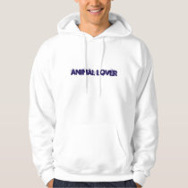 ANIMAL LOVER Hooded Sweatshirt