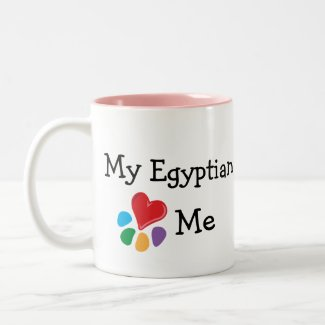 Animal Lover_I Heart My Egyptian mug