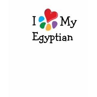 Animal Lover_I Heart My Egyptian shirt