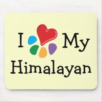 Animal Lover_I Heart My Himalayan Mouse Pad