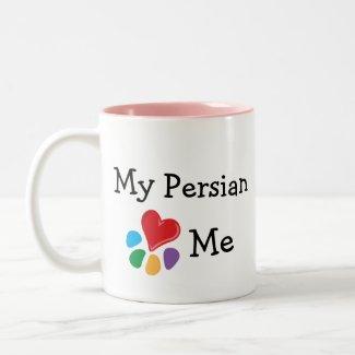 Animal Lover_I Heart My Persian mug