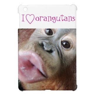 Animal Lover: I Love Orangutans Cover For The iPad Mini