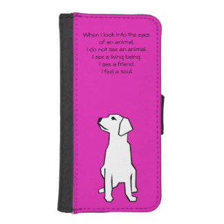 Animal Lover iPhone 5/5S Wallet Case
