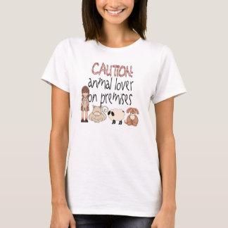 Animal Lover On Premises T-Shirt